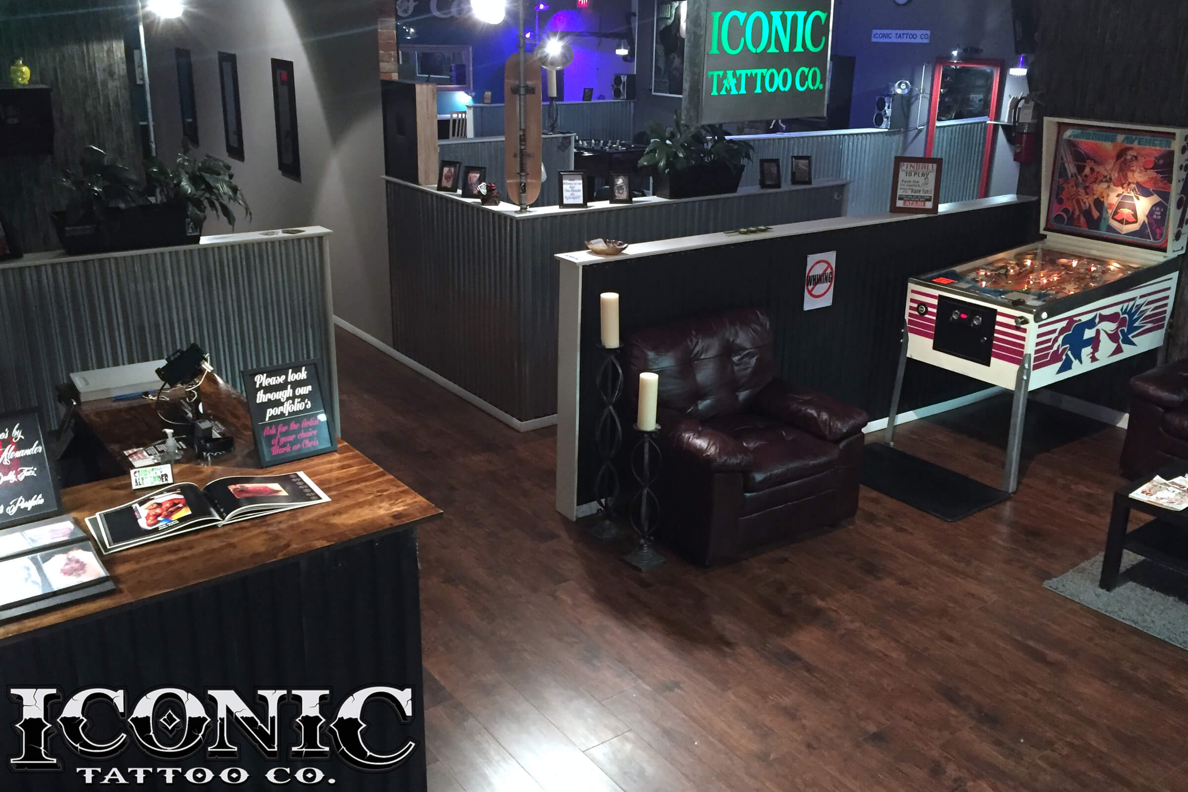 Iconic tattoo co for Tattoo shops in colorado springs